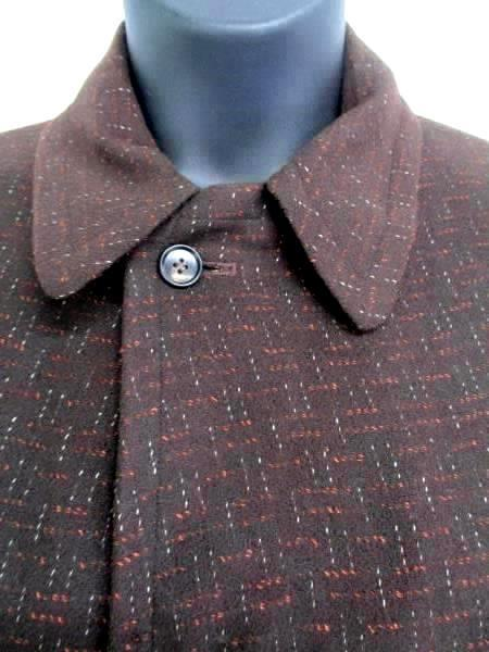 Vintage Women's Sterlingwear Coat Wool Blend Brown Authentic Trench Style