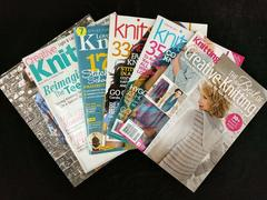 6pc Mixed Lot Knitting Magazines Creative Love of Knit Simple Rowan Accessories