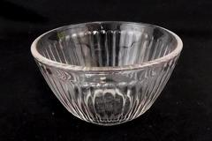 Vintage Pyrex Clear Ribbed 3 Cup Round Bowl 7401-S