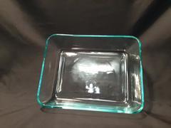 "Pyrex 7211 Baking Dish Clear Glass 3 Cup Casserole Serving 7"" x 5"" x 1.5"""