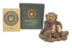 Boyds Bearstones Neville The Bedtime Bear RETIRED 1993 Original Box COA