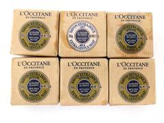 Lot of 6 L'Occitane Soap Extra Gentle Shea Butter Verbena & Milk 1.7oz Travel