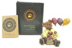 1993 Boyd's Bearstones Goodfer U Bear Way To Go Original Box With COA 227729