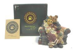 Boyd's Bearstones Momma & Poppa McNewBear Musical Figure Original Box COA 270556