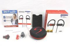 Senso ActivBuds S-255 Sports Wireless Headphones HD Bluetooth 4.1 IPX7