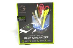 Smart Gear Light Up 4 Port USB Desk Organizer Charging Station 4.1 Amps