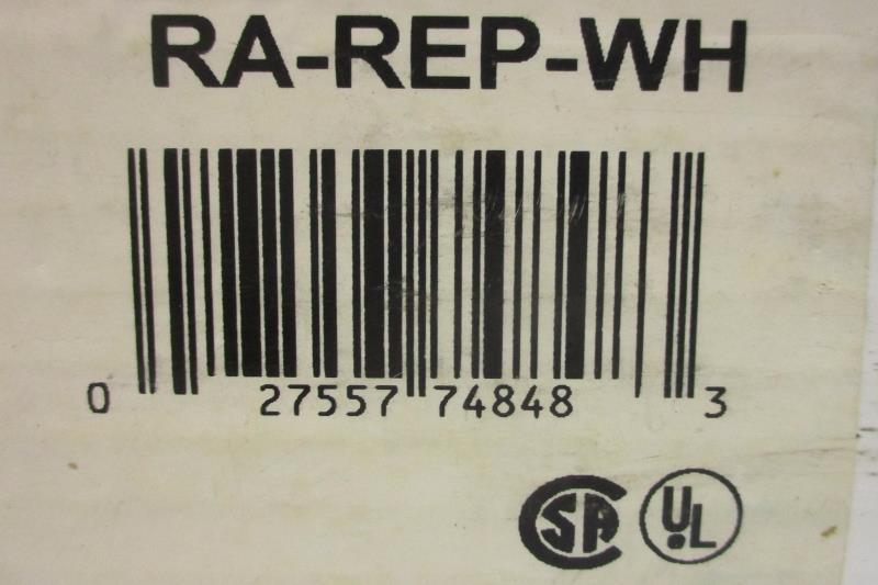 Radio RA Lutron Repeater White 120 VAC 60Hz RA-REP-WH In Original Box
