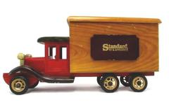 "Wooden Advertising Toy Truck ""Standard TV & Appliance"" Display Storage"