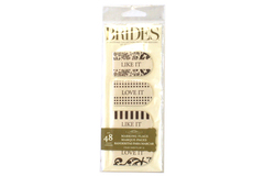 Lot of 2 Packs Brides Magazine Wedding Marking Flags Page Markers 48 Ct Unused