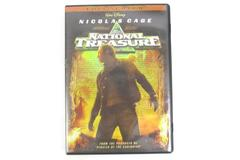 National Treasure DVD 2005 Full Screen Edition Nicolas Cage Walt Disney PG Movie