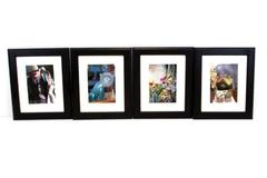 Lot of 4 Photography Art Portraits Latin America Statue Cat Masks Tribal