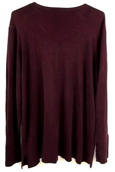 Purple SUSINA Cardigan Size 1X Made in China