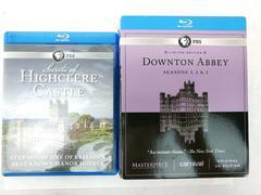PBS Blu-Ray Downton Abbey Seasons 1-3 Box Set + Secrets Of Highclere Castle