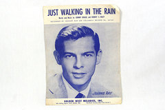 Just Walking In The Rain - 1953 - Johnnie Ray - Columbia Record No. 40729