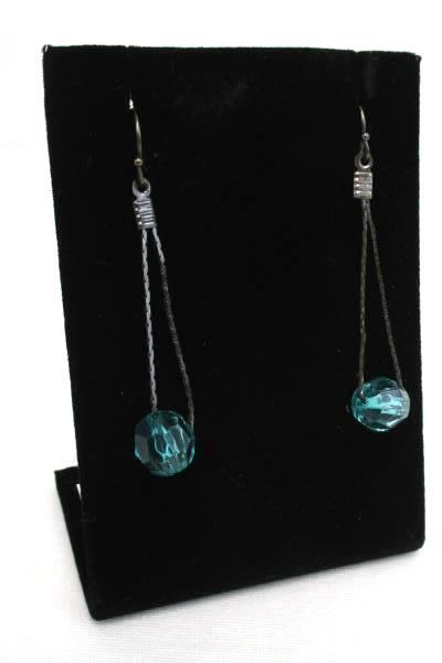 Lot of 3 Matching Jewelry Pieces Blue Teal Tone 3 Sets Earrings Bracelet