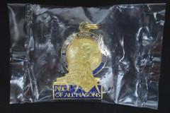 George Washington Masonic National Memorial Pendant Enamel and Gold Tone