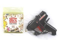 Vintage Crafty Hot Melt Black Glue Gun Clear Glue Sticks General Purposed Works