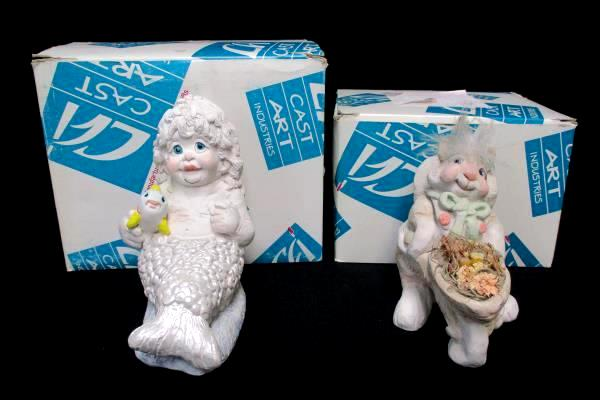 2 Dreamsicles Splash DA616 & Gathering Flowers DA320 In Original Boxes