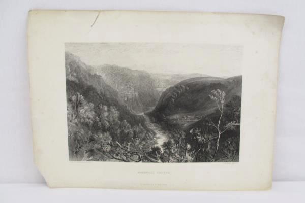 Lot of 4 D. Appleton Of New York Ashburnham Thames Heathfield Brignell Prints