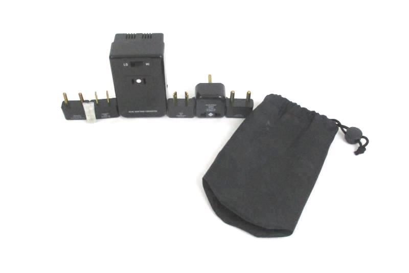 American Tourister Protege Travel Voltage Converter Kit 1393 Charger Black