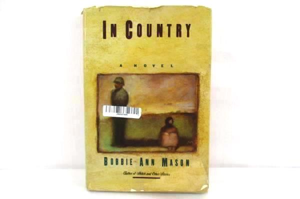 In Country by Bobbie Ann Mason Autographed First Edition Vietnam War Novel 1985