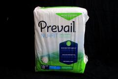 """Prevail Nu Fit Daily Briefs Size L 45"""" 58"""" Pack Of 18 Quick Wick With Maxsoft"""