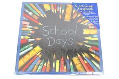 Susan Winget's School Days K-6th Grade Scrapbook Protectors Pages Memories