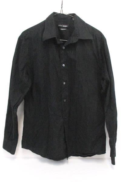 Dress Shirt Lot Mens ProjekRaw Plaid Snap Button John Henry Black Button Front M