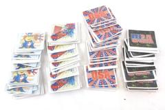 Lot of 74 Holographic USA July 4th Stickers Uncle Sam Fireworks Red White Blue