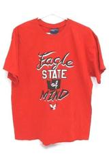 MV Sport T-Shirt Short Sleeve Red Eagle State Of Mind Men's Large