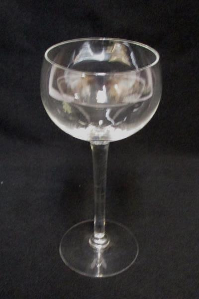 Lot of 8 Misc Replacement Clear Glass Stemware Dining Glasses Goblet Wine & More