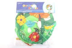 Garden Breeze Hummingbird Twister 88037 New Torn Packaging Green Red Yellow