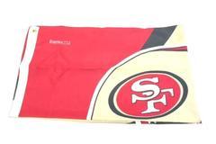 Emerson San Francisco 49ers Garden Flag Helmet Red Beige White Black 58.5 x 34.5