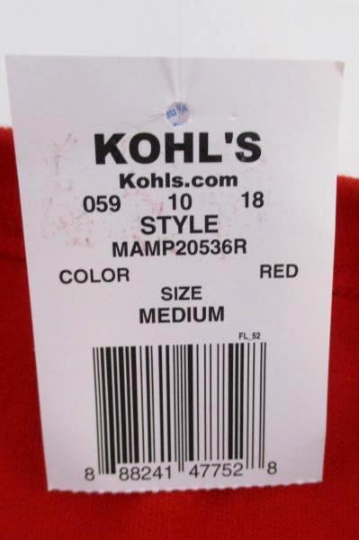 NEW Gildan Kohl's Red White Blue Sleeveless Patriotic Shirt USA 4th of July M