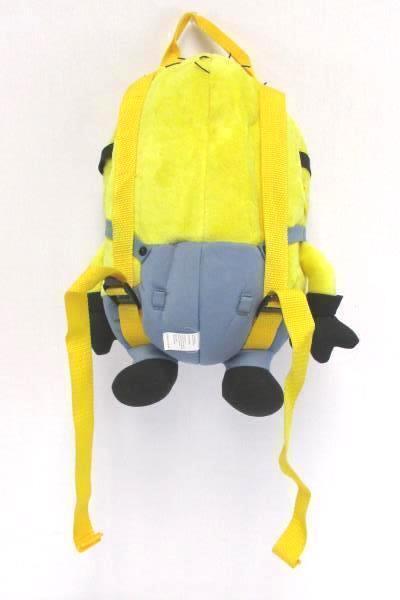 Jerry Backpack Despicable Me Minions Adjustable Straps Plush Zipper Compartment
