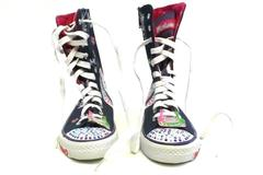 Twinkle Toes By Skechers High Top Graphic Design Girls Sneakers Size 1