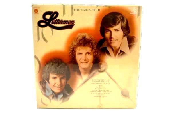 Lettermen The Time Is Right Vinyl LP Capitol Records R 133710 Record Album