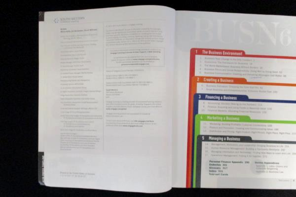 BUSN 6 Student Edition Kelly McGowen Williams SC 2014