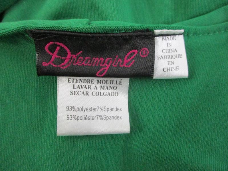 Dreamgirl Robyn Da Hood Women's 4 Piece Costume Set Size Small Missing Bag
