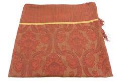 Melrose Home Collection Burgundy Elegant Throw Blanket Tassle Corner