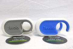 Lot of 2 Tovolo Silicone Ladle Clips 81-10123 Utensil Spoon Spatula Holder NWT