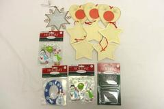 Lot of 13 Holiday Inspirations Christmas Ornament Crafting Supplies