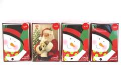 Lot of 4 American Greetings Santa Frosty Snowman Box Set 14 Cards and Envelopes