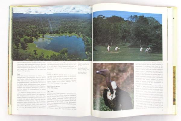 National Parks of the World in Color the World of Nature 1974 HB/DJ Italy