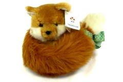 Vintage 1986 Applause Furry Tails Plush Fox 21002