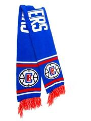 Los Angeles Clippers Knit Scarf Fringed Blue Red White Kia