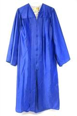 E.R. Moore Blue Gown Graduation Choir Unisex Size ML 5'8 to 5'10
