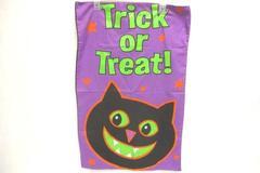 Halloween Trick Or Treat Lot Pillowcase Treat Bag Scarf Semi Sheer Pumpkin Witch