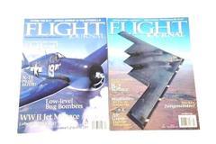 Lot of 2 Flight Journal Magazines Oct 1998 & April 2002