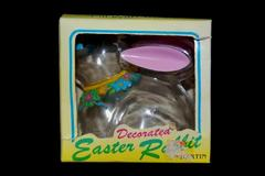 Vintage Decorated Easter Rabbit By Hartin Fill With Treats Plastic